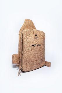 "MAJAJANtA® ""Mai G Tasche aus Kork Leder Festival Crossbodybag Schultertasche Vegan Alternative Umhängetasche"
